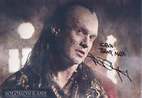 JASON FLEMYNG Signed 12x8 Photo SOLOMAN KANE & X MEN COA