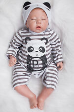 """20"""" Lenght Handmade Real Looking Full Body Silicone Reborn Baby Newborn Boy Doll"""