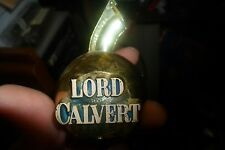 Vintage LORD CALVERT Cork Beer Stopper