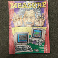 rare MEASURE revue du personnel HP Hewlett Packard Calculator Sept Oct 1986