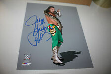 "JAKE ""THE SNAKE"" ROBERTS SIGNED WWE/WWF 8X10 PHOTO HALL OF FAME POSE 2"