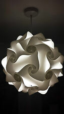light shade kit retro puzzle lampshade ceiling lantern pendant 25cm White SALE