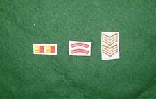 1/6 Segunda Guerra Mundial británica Granadero guardias Títulos De Hombro Parche juego de lote