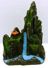 SCENIC MOUNTAIN 585c SMALL POLYRESIN AQUARIUM ORNAMENT PART C (RIGHT SIDE)