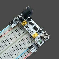 5V/3.3V Power Supply Module and 830 tiepoint breadboard for Arduino Raspberry pi