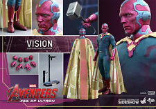 "Hot Toys Avengers Age of Ultron VISION 12"" Action Figure 1/6 Scale MMS296 Marvel"