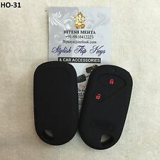 Silicone Car Key Cover for Honda City ZX Models with separate remote