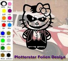 Kitty Joker JDM Sticker Aufkleber oem PS Power fun Shocker Fun