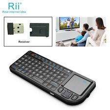 Rii k01v3 mini wireless keyboard backlit laser pointer for Multimedia teaching