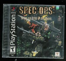 Spec Ops: Stealth Patrol (Sony PlayStation 1, 2000) FACTORY SEALED NEW