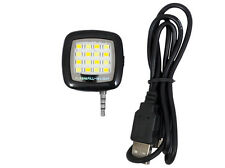 16 Leds LED Flash Light For Smart Phones Tablet PC Front Rear Camera Shift BLACK