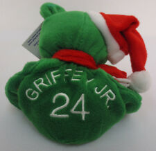KEN GRIFFEY JR SALVINOS BAMM BEANOS BEAR HOLIDAY MLB BASEBALL CHRISTMAS XMAS NEW