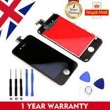 For Apple iPhone 4 4G LCD Display Digitizer Touch Screen Assembly Black + Tools