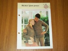 Vintage Quick & Easy  Knitting Pattern, His & Hers Sports Jerseys, 148