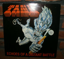 Tank  Echoes of a Distant Battle EP  VG+/NM   Music for Nations UK NWOBHM RARE
