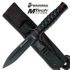 M Tech USMC SALVATION Fixed Blade Dagger - Survival Combat Camping Hunting Knife
