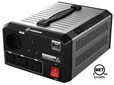 KRIEGER 1150 W Voltage Transformer Converter 120 220 230V AC MET UL CSA