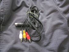 Commodore 64/128 RCA Video Monitor Cable Chroma  NEW
