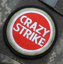 JSOC AFSOC TACP JTAC DEATH on CALL BOMB DROPPER JTF VELCRO SSI: CRAZY STRIKE