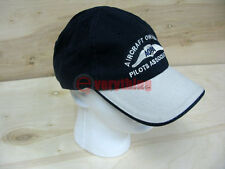 Blue embroidered AOPA Aircraft Owners & Pilots Association hat cap 100% cotton