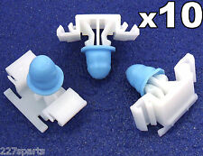 10x BMW E36 Exterior Side Moulding / Door Bumpstrip Fastener Clips - inc M-Tech