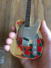 Jimmy Page Yardbirds Dragon Fender Telecaster Miniature Guitar - Free Shipping