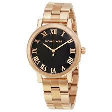 Michael Kors Norie Black Dial Ladies Watch MK3585