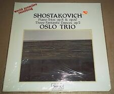 Oslo Trio SHOSTAKOVICH Piano Trios - Simax PS 1014 SEALED