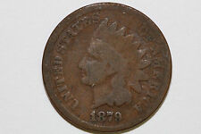 Up for Sale is One Bronze 1879 Indian Head Cent Grading Good (Stock #: IPX684)