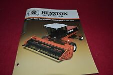 Hesston 8200 Self Propelled Windrower Dealer's Brochure DCPA2