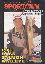 Why Fish Strike - Italo Labignan Pike Salmon Walleye Bass Fishing DVD Video