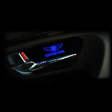 New LED mood door catch plate 1set 2pcs For Hyundai Genesis Coupe 2009+