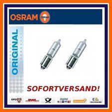 2x OSRAM ORIGINAL LINE h21w h12v bay9s luci di retromarcia AUDI BMW CITROEN VW