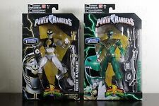 GREEN & WHITE RANGER Legacy Collection Figure 6.5 Mighty Morphin Power Rangers