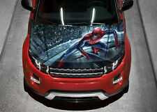 Spiderman #1 Car Hood Wrap Full Color Vinyl Sticker Decal Fit Any Car