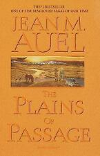 The Plains of Passage 4th in the Earth's Children by Jean M. Auel. 1st E.1990 HC