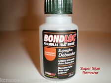 SUPER GLUE REMOVER DEBONDER CLEANER LARGE 20ML BOTTLE GOOD QUALITY