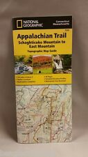 National Geographic Appalachian Trail Map CT MA Schaghticoke Mtn - East Mtn 1509
