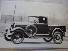 1928 - 1929  FORD  ROADSTER PICKUP 12 X 18  LARGE PICTURE  PHOTO