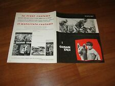 BROCHURE,1963,I giovani eroi The Young and the Brave,Rory Calhoun.Bendix,war