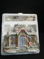 Precious Moments Hawthorne Village Lighted Building ~ QUIET TIME LIBRARY ~ NIB