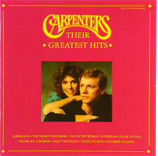 CD - Carpenters - Their Greatest Hits - A 604