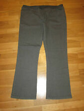 cotton traders grey  pull on bootcut jeans size 26 leg 33 brand new with tag