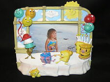 PHOTO FRAME TERRAGRAFICS 3D BIRTHDAY CAKE CANDLES ICE CREAM CONE GIFT CAT TABLE