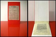 MANIFESTO DEL FUTURISMO Futurista 1909 LIBRO D'ARTISTA Edizione Fuori Commercio