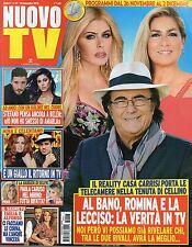 Nuovo Tv 2016 47#Al Bano Carrisi, Romina Power & Loredana Lecciso,Serena Rossi,k