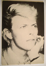 CP * DAVID BOWIE CARTE POSTALE POSTCARD