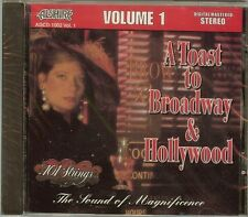 101 STRINGS - VOL.1 - A TOAST TO BROADWAY & HOLLYWOOD - CD