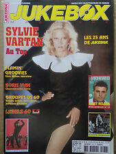 revue JUKEBOX MAGAZINE n°276 SYLVIE VARTAN FLAMIN GROOVIES BORIS VIAN