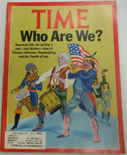 Time Magazine Who Are We American Kids July 1991 041615R